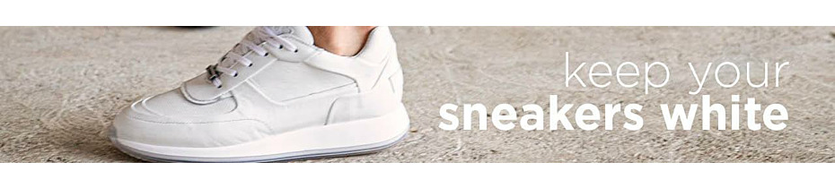 How to keep your sneakers white & fresh?