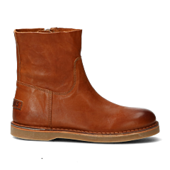 Ankle-boot-with-zipper-cognac