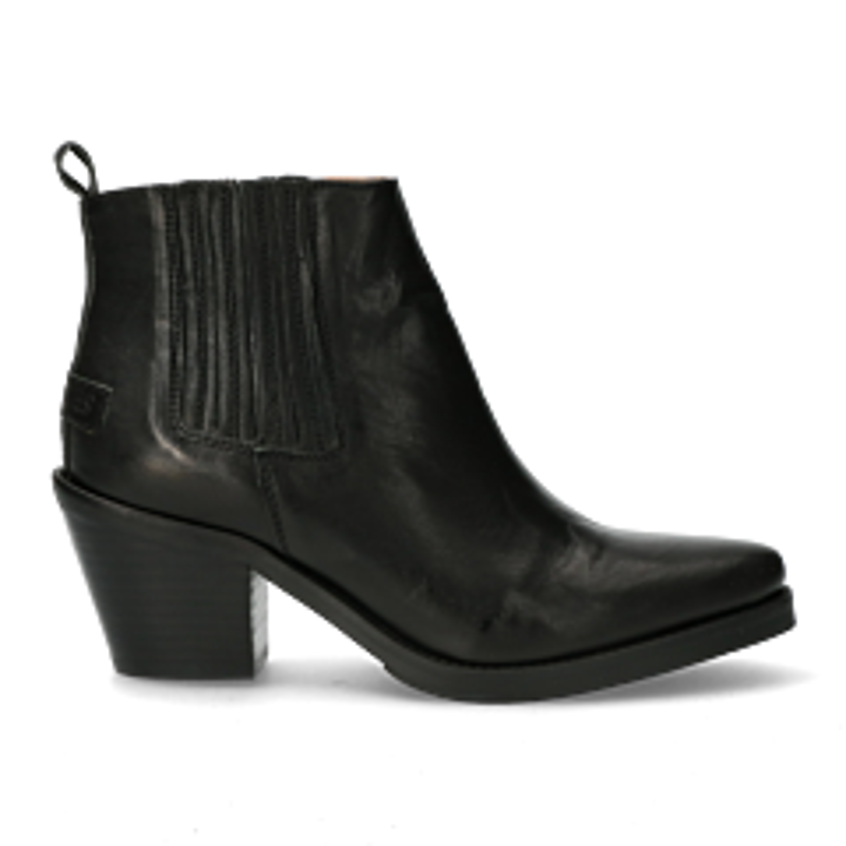 Western-chelsea-boot-Schwarz