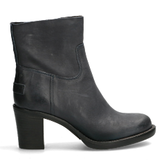 Ankle-boot-hand-buffed-leather-dark-blue