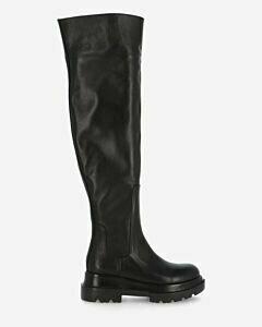 Stiefel Glattleder schwarz