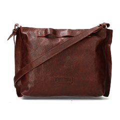 Shoulderbag-grain-leather-red-brown