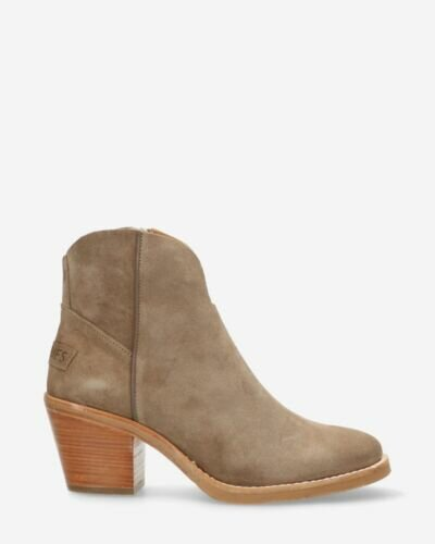Ankle boot Lime taupe