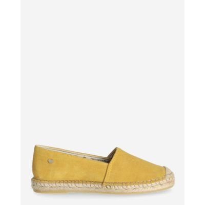 Espadrille-loafer-suede-yellow