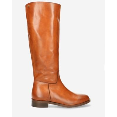 Boot-soft-smooth-leather-cognac