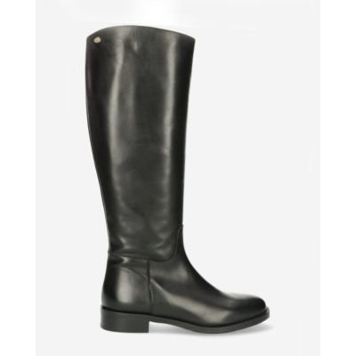 Boot-soft-smooth-leather-black