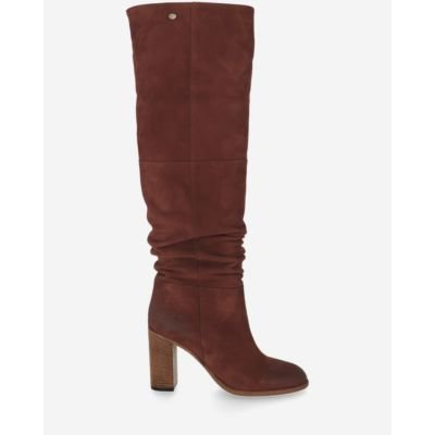 Boot-suede-brick-brown