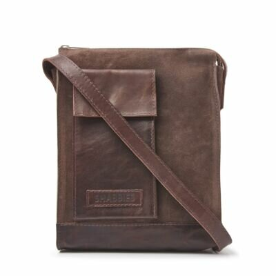 Crossbody-waxed-suede-dark-brown