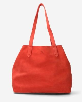 Pink-suede-tote
