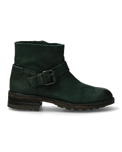 ANKLE-BOOT-3,5-CM-WAXED-NUBUCK-Green