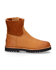 Ankle-boot-waxed-grain-leather-double-face-Light-Brown