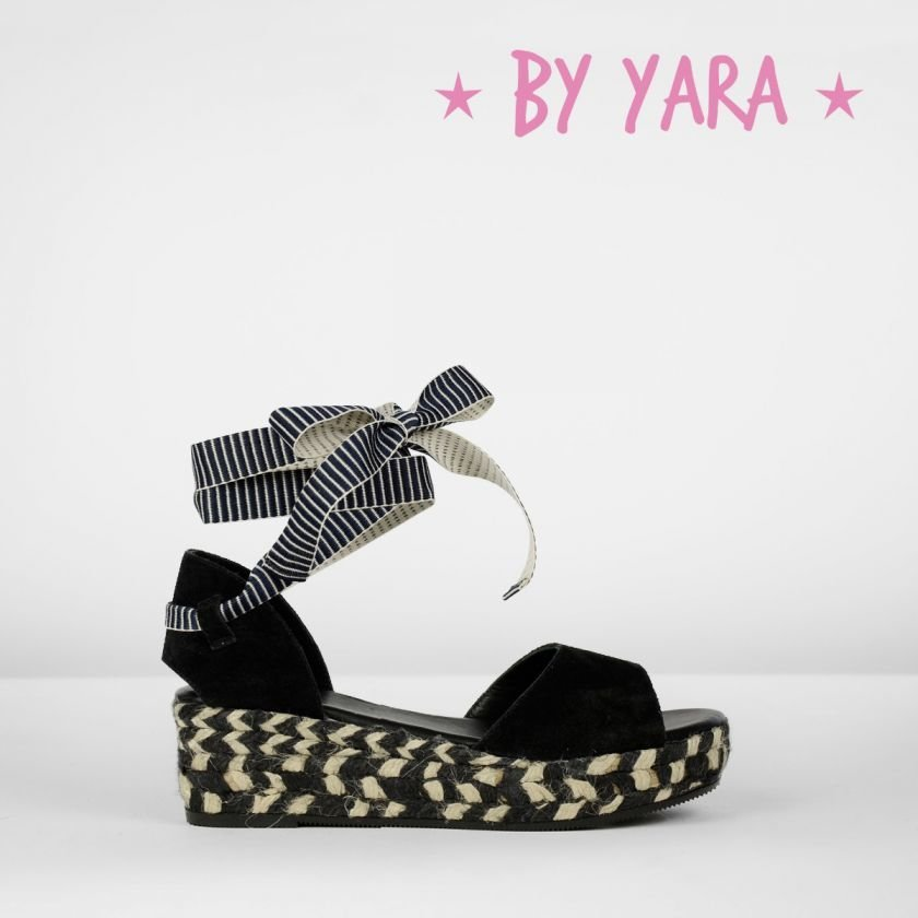Espadrille-with-wedge-suede-Black