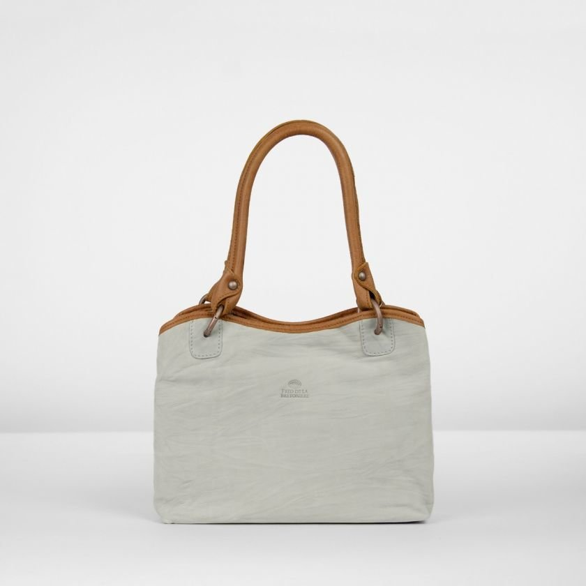 Shoulderbag-nubuck-leather-Silver-Grey
