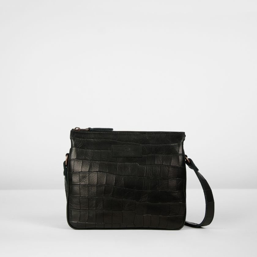 Cross-body-printed-leather-Black