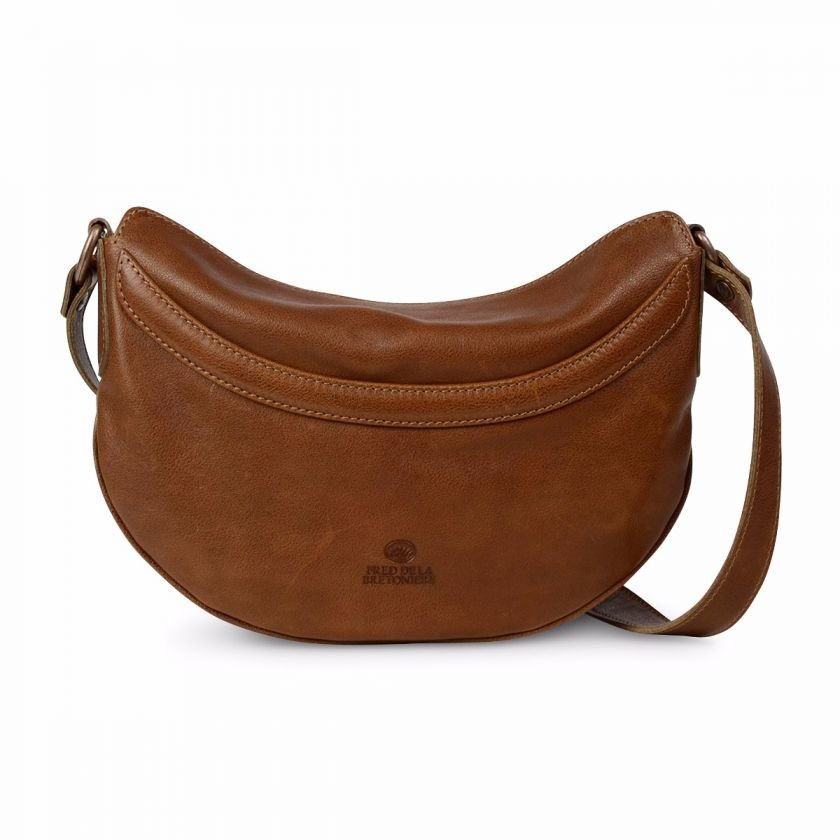 Cross-body-grain-leather-Brown