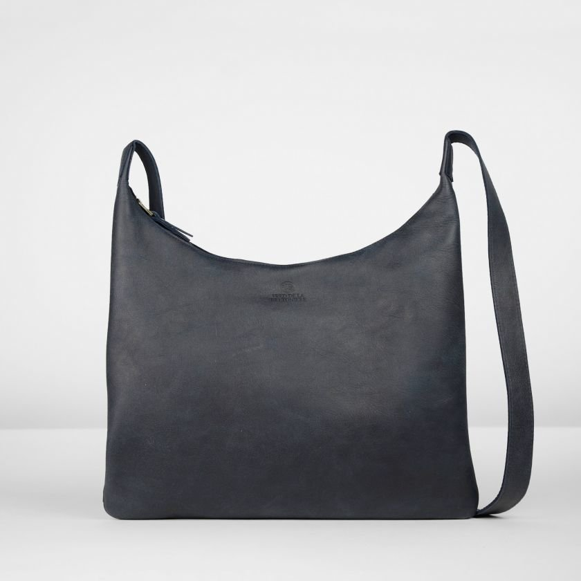 Shoulderbag-hand-buffed-leather-Dark-Blue