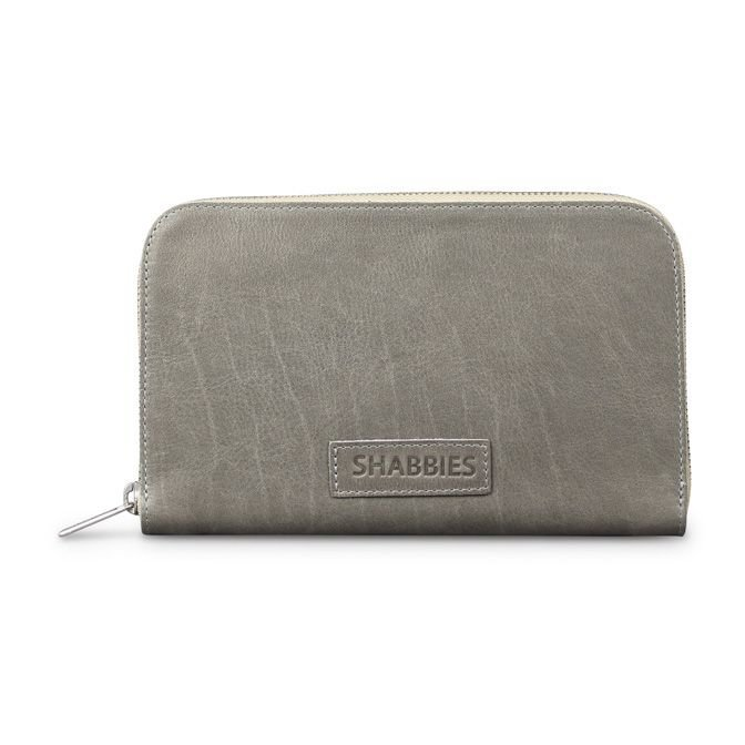 WALLET-LARGE-GRAIN-LEATHER-Grey