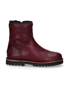 Ankle-boot-smooth-leather-Bordeaux