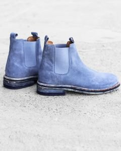 Chelsea-boot-Wildleder-Denim-