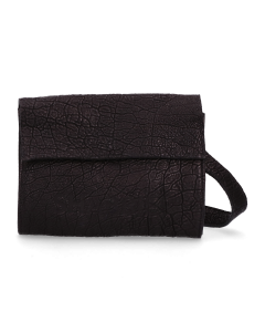 Cross-body-gemustertes-Leder-Schwarz