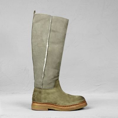 Stiefel double face Wool Taupe