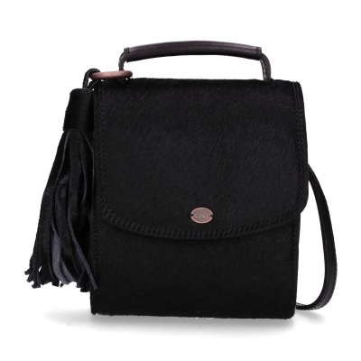 Cross-body-haircalf-leather-Black