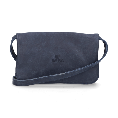 Evening-bag-hand-buffed-leather-Dark-Blue