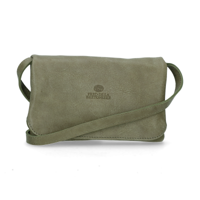 Evening-bag-hand-buffed-leather-Olive