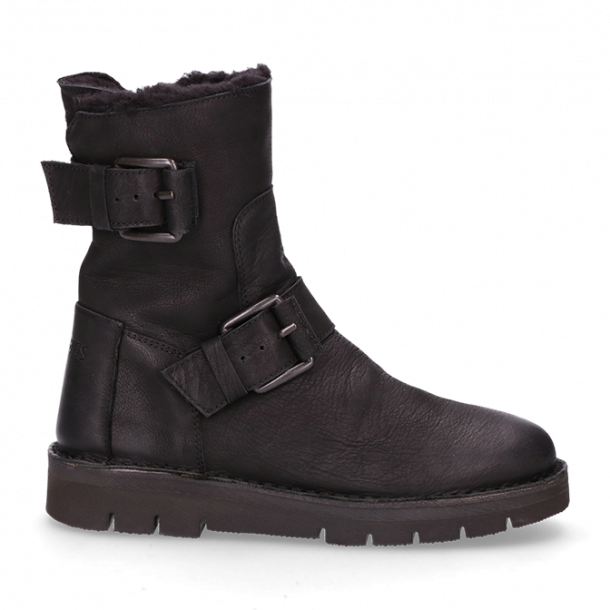 Lined-ankle-boot-waxed-grain-leather-black