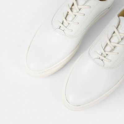 Sneaker-smooth-leather-White