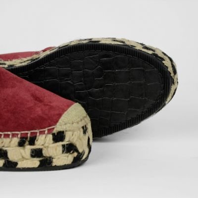 Espadrille-suede-Cherry-Red