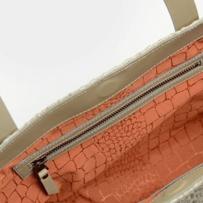 Shoulderbag-woven-fiber-Light-Grey