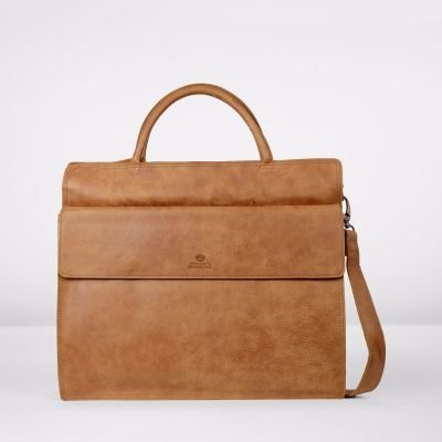 Business-bag-hand-buffed-leather-Cognac